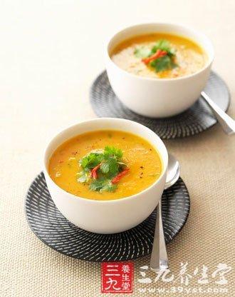 饭前喝汤有助减肥但是不可多喝